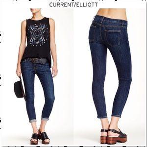 Current/Elliott Stiletto Skinny Jeans Alumni Wash